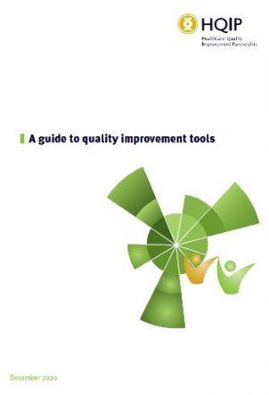 Image of cover of guide to quality improvement